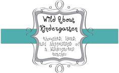 kindergarten blog.
