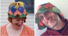 Harlequin hat- Malarky Crafts