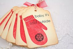 Christmas gift tag idea