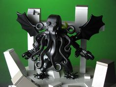 LEGO Cthulhu Fhtagn by mondayn00dle, via Flickr