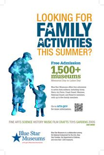 Have you Heard about Blue Star Museums?  Blue Star Museums Kicks Off on Memorial Day!