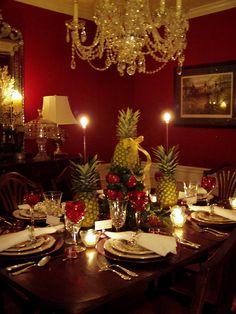 Christmas Table Setting with Lenox, Winter Greetings