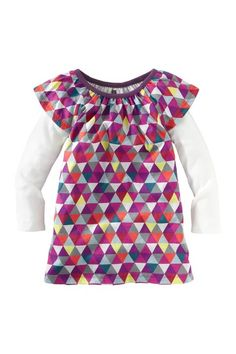 Mode Triangle Mini Dress