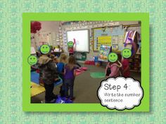 Try this fun kinesthetic movement math game! Maggie's Kinder Corner: Ready...Set...Split!!! It's a Bright Ideas Blog Hop