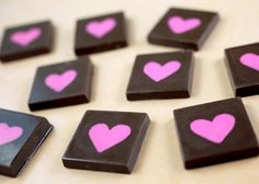 Valentines Day DIY Chocolate Candies