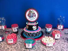 monster high birthday party ideas | Monster High Birthday Candy Buffet | Party Ideas