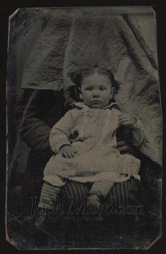 Vintage Hidden Mother Photograph