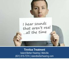http://www.islandbetterhearing.com – I am the face of tinnitus. One of millions of Americans suffering from a condition that has no outwards indications of disease or disability. Tinnitus is real and disrupts many lives. Fortunately treatment options do exist. Start your search for a tinnitus cure at Island Better Hearing in Melville.