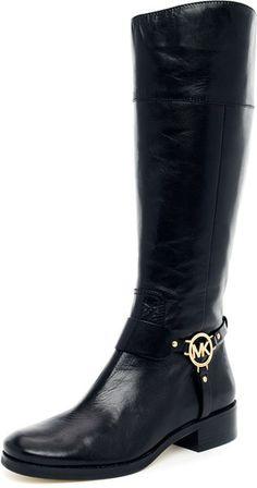 Michael Kors Fulton Harness Boot in Black