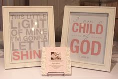 """Photo 18 of 22: Baptism """"Kate's Pink & Gray Dedication"""" 