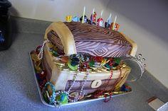 Pirate Treasure Chest Cake  Flickr Photo Sharing