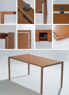 folding table elegant simple