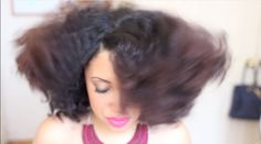 Twist Bantu Knot Out On Natural Fresh Washed Hair♥