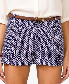 Printed shorts for summer!