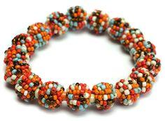 #Beaded Stretch #Bracelet Sedona #jewelry