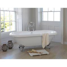 Shakespeare Roll Top Bath Small