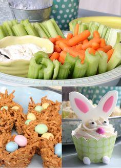 Easter Party Food @shophollydays