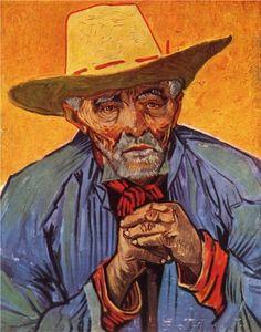 Portrait of Patience Escalier ~ Vincent Van Gogh