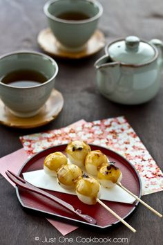 Mitarashi Dango | みたらし団子| Easy Japanese Recipe at Just One Cookbook