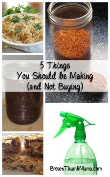 Why would you make something that you could just run out and buy? Lots of reasons. Homemade food tastes better. Natural cleaners are safer and cheaper. And making stuff with your kids is just plain fun!