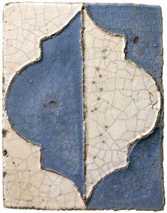 Spanish antique reproduction ceramic tile