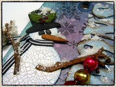 12 tags of christmas - day 7... - Tim Holtz
