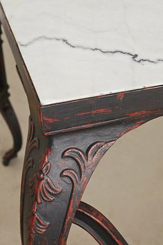 marble swing table