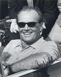 Jack Nicholson.  REDRUM   ;)