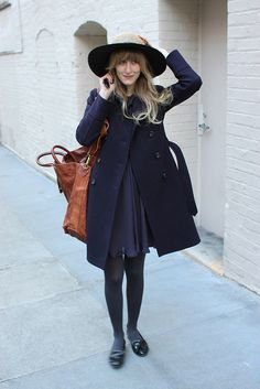 shades of navy (see? monochromatic!)