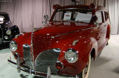 1941 Lincoln Zephyr Ambulance