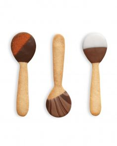 Darling Cookie Spoons from @Martha Stewart  Absolutely LOVE these!!