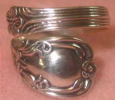 70's Spoon Ring