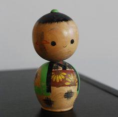 vintage kokeshi