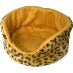 Comfy Cozies for Guinea Pigs in a beautiful, rich leopard print with toffee inside. Removable potty pad inside for easier washing, too! Whheeeeekkkk!!!!