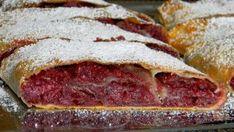 hungarian-food-meggyes-rétes-cherry-strudel