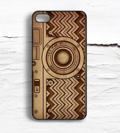 iPhone Vintage Camera Wood Print Case. #onlineshopping #iPhone #blisslist Buy it on BlissList: https://itunes.apple.com/us/app/blisslist-easy-shopping-gifting/id667837070
