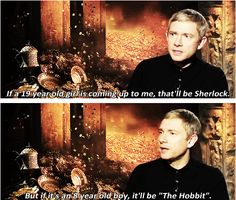 Martin Freeman knows his demographics.