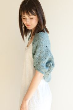 robin shrug by pam allen, quince & co.