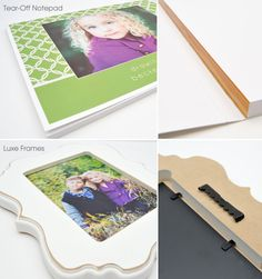 Holiday gift ideas: Tear-Off Notepads and Luxe Frames
