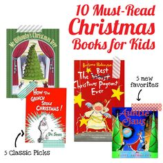 10 Must Read Christmas Book for Kids