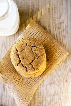 soft and chewy ginger snaps | heathersfrenchpress.com #cookies