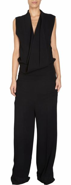 Haider Ackermann Sleeveless Jumpsuit in Black - Barney's (Sold Out)
