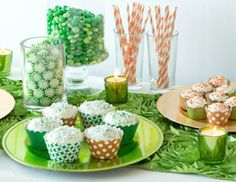 I pinned this from the Luck of the Irish - Entertaining Essentials for a St. Patty's Day Soiree event at Joss and Main!