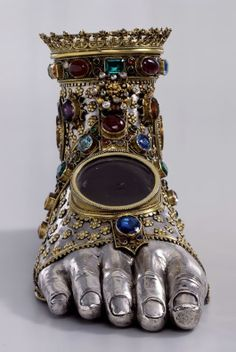 600-year-old swiss reliquary