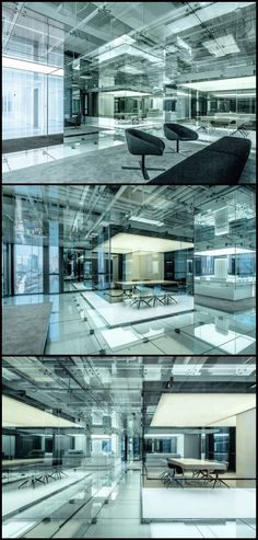Glass Office Interior