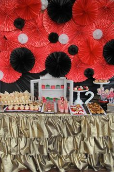 Ladybug Themed 2nd Birthday Party via Kara's Party Ideas KarasPartyIdeas.com