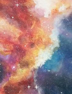 Galaxy painting by sabrina