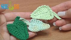 Crochet Leaf How To Tutorial 5 (+playlist)