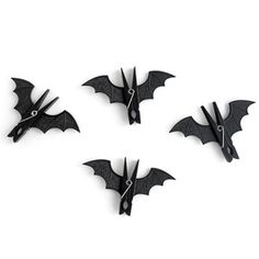 Spooky Bats Pegs 4 Pack, $12.50, now featured on Fab.