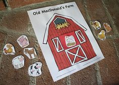 Peek-A-Boo Farm Animals Activity (Free Printable) - Buggy and Buddy